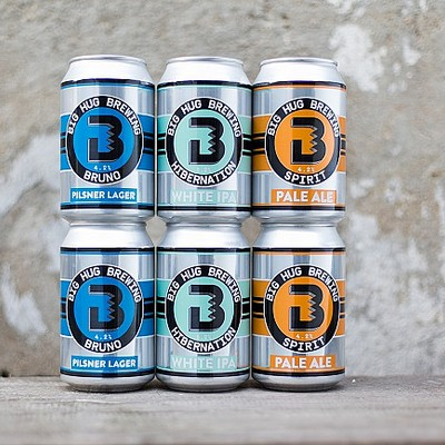Have a hug in a can and win with Big Hug Brewing!