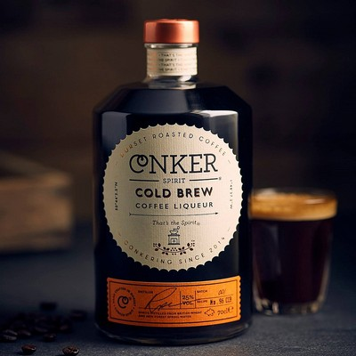 Top-notch cold brew coffee liqueur