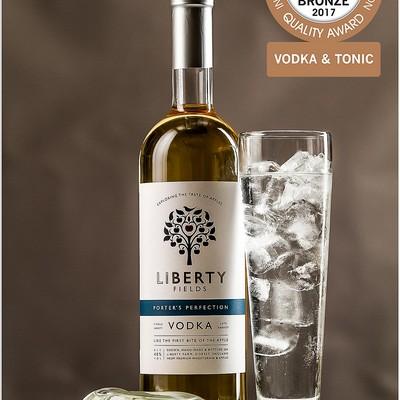 Naturally Golden Porter's Perfection Vodka turns into Bronze!