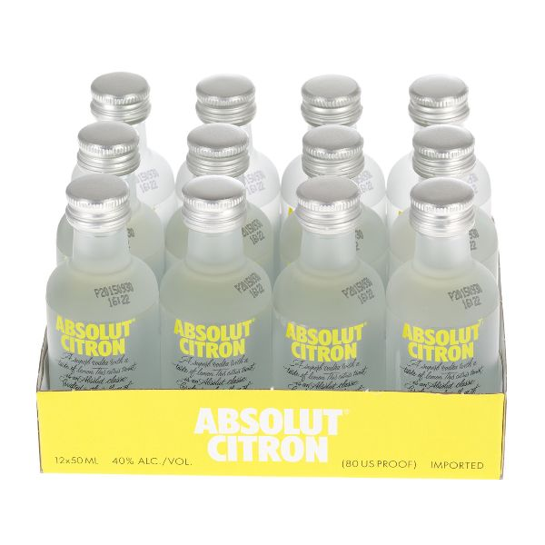 Absolut Citron Miniatures