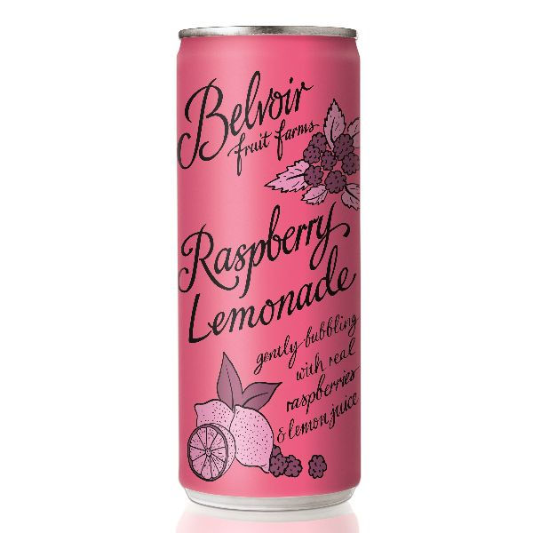 Belvoir Raspberry Lemonade can