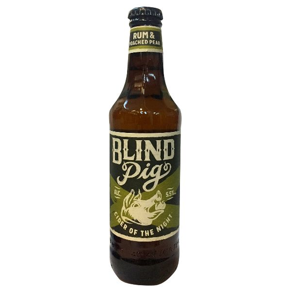 Blind Pig Rum & Poached Pear