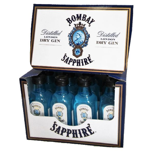 Bombay Sapphire Dry Gin MINIATURES