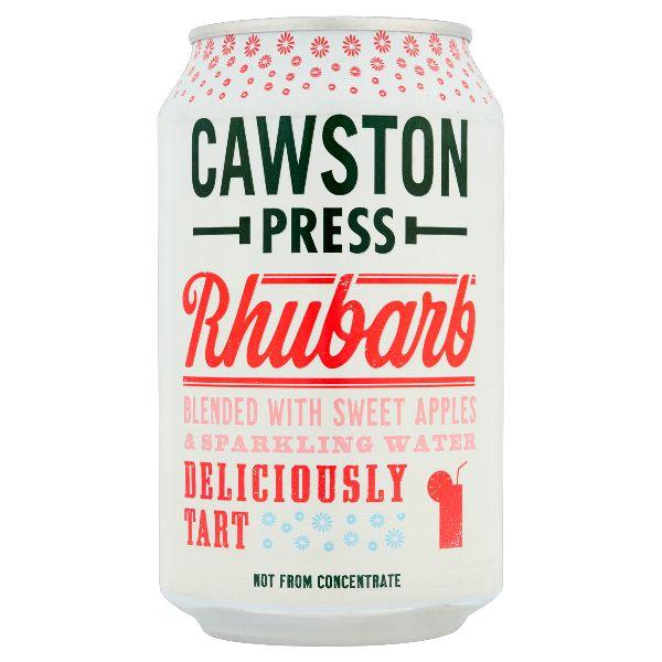 Cawston Press Sparkling Rhubarb Can