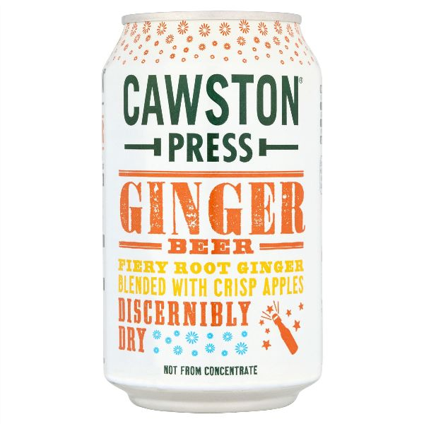 Cawston Press Sparkling Ginger Beer Can