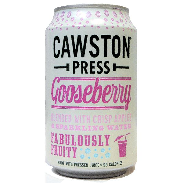 Cawston Press Sparkling Gooseberry Can