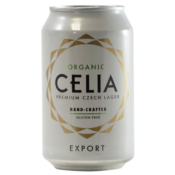 CELIA Organic Lager Gluten Free Can