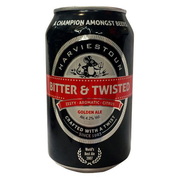 Harviestoun Bitter & Twisted  Can
