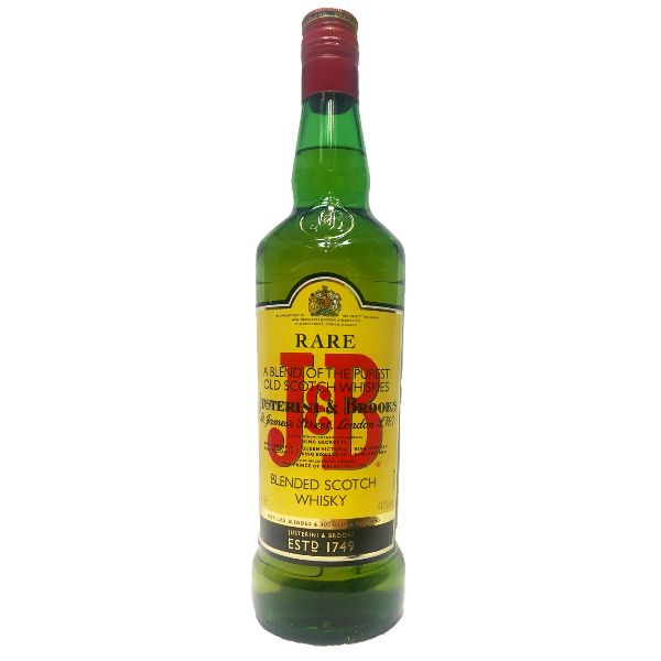 J & B  Rare Scotch Whisky