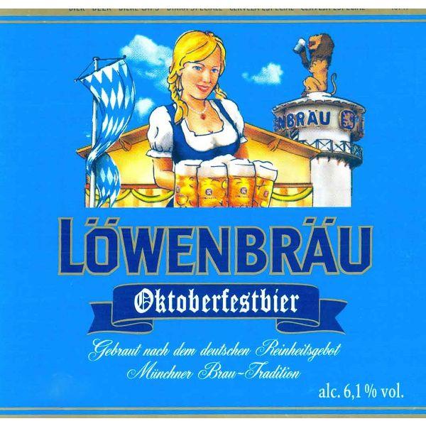 Lowenbrau Oktoberfestbier