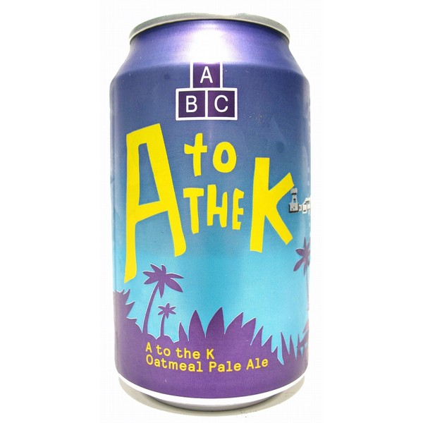 Alphabet Brewing A to the K Cans