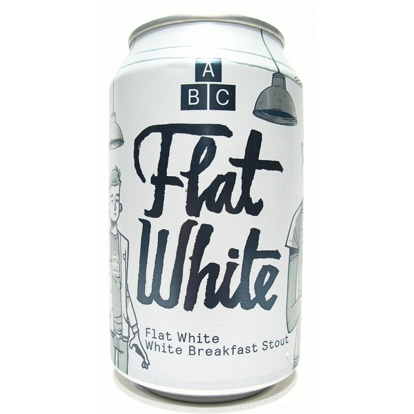 Alphabet Brewing Flat White  Cans