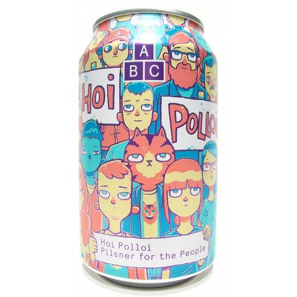Alphabet Brewing Hoi Polloi Cans