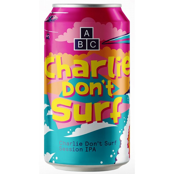 Alphabet Brewing Charlie Don't Surf Cans