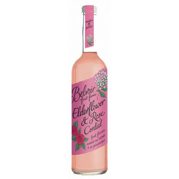 Belvoir Elderflower & Rose Cordial