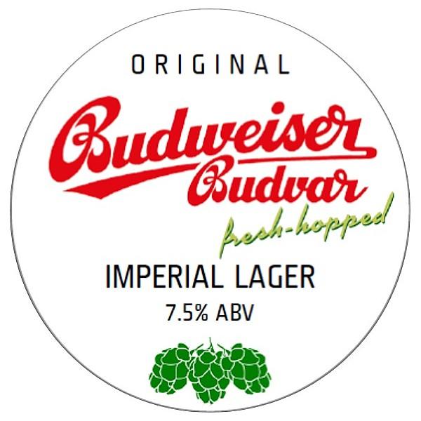 Budvar Imperial Lager Fresh Hopped