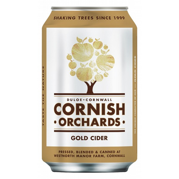 Cornish Orchards Gold  Cider Can