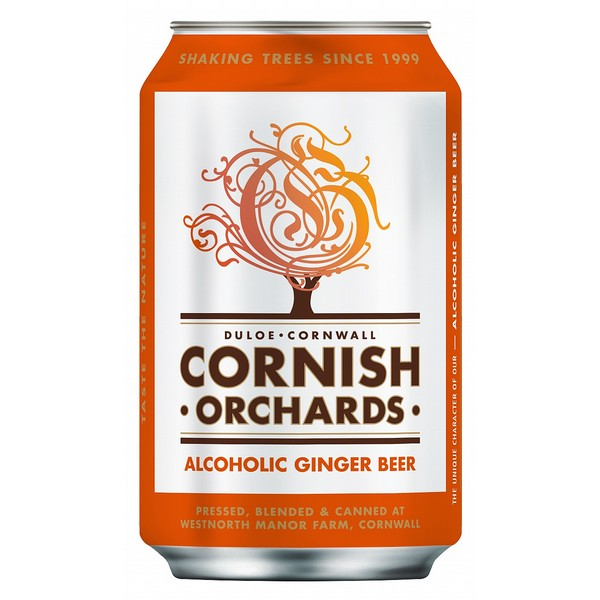 Cornish Orchards Ginger Beer Can