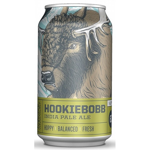 Crazy Mountain Hookiebobb IPA Cans
