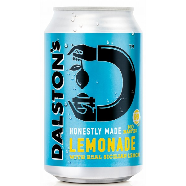 Dalston's Real Lemonade Cans