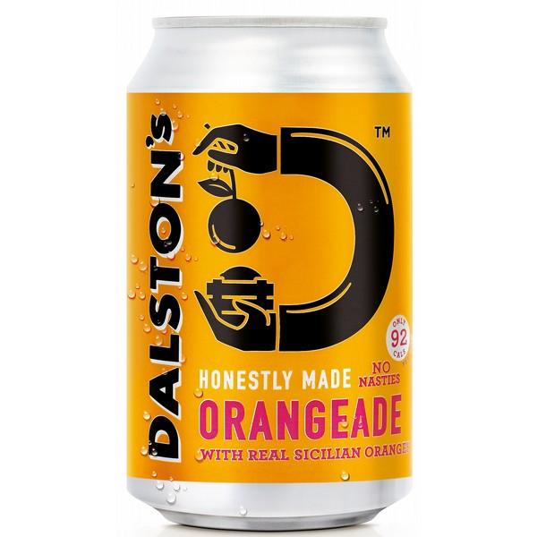 Dalston's Orangeade  Cans