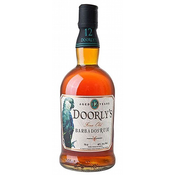 Doorlys Gold 12 Year Old Rum