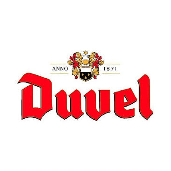 Duvel Bottle Chalice Glass x1