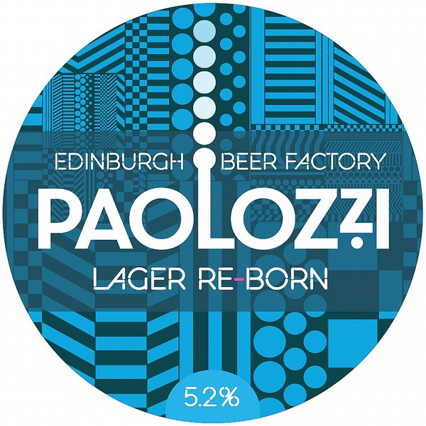 Paolozzi Round Tap Badge