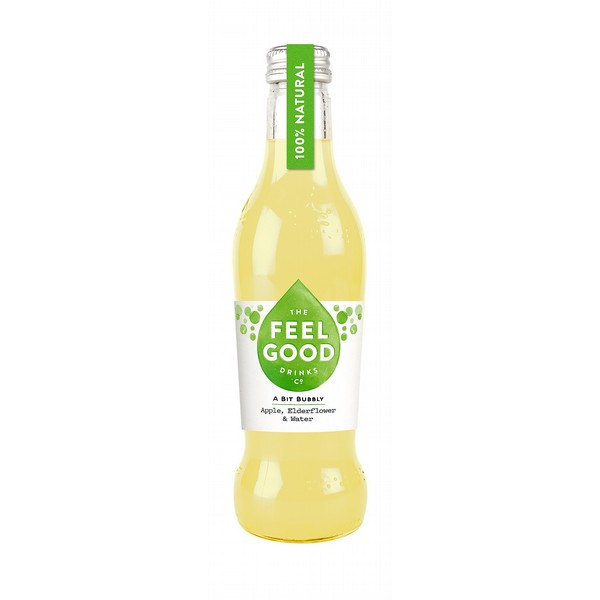Feelgood Sparkling Apple & Elderflower