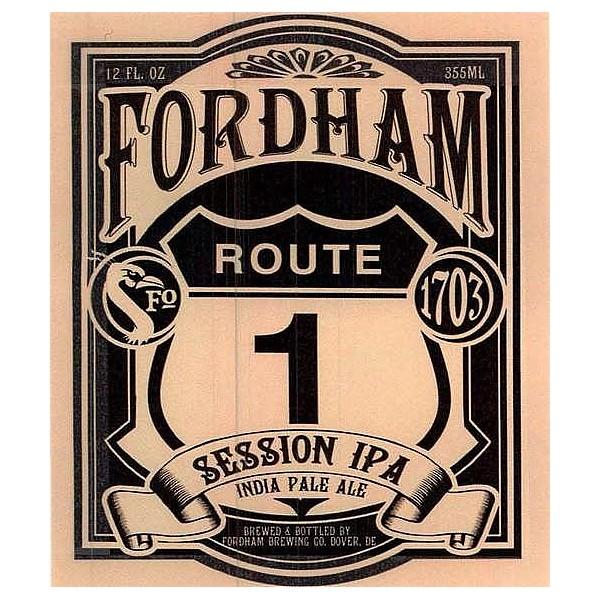 Fordham Rout One Round FlatTap Badge