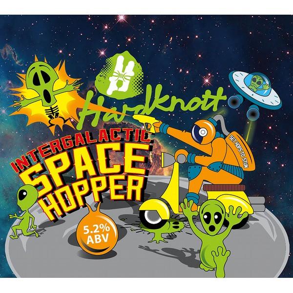Intergalactic Space Hopper Round Fisheye