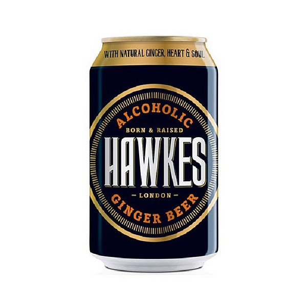 Hawkes Ginger Beer Can