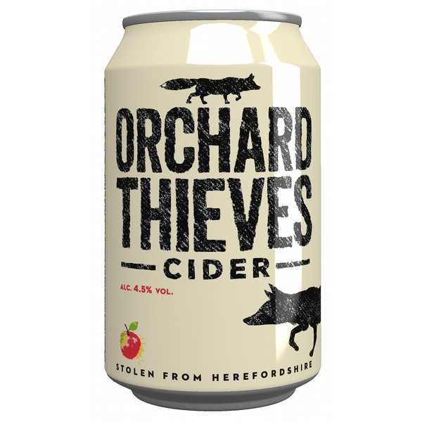 Orchard Thieves Cider Can