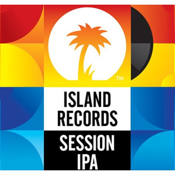 Island Records Session IPA Round Badge