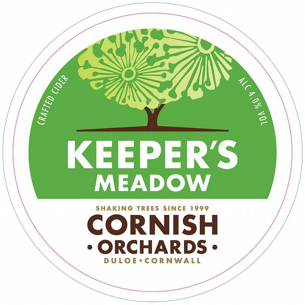 Cornish Orchards Keeper's Meadow Cider