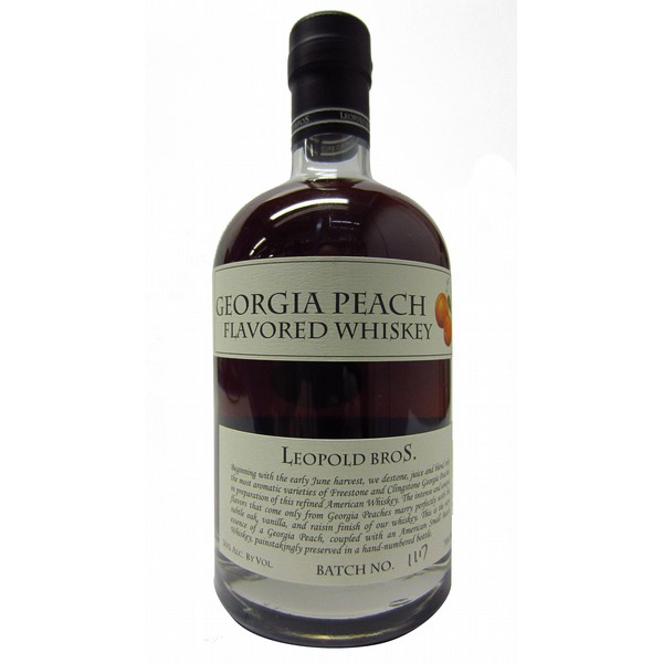 Leopold's Georgia Peach Whiskey Liqueur