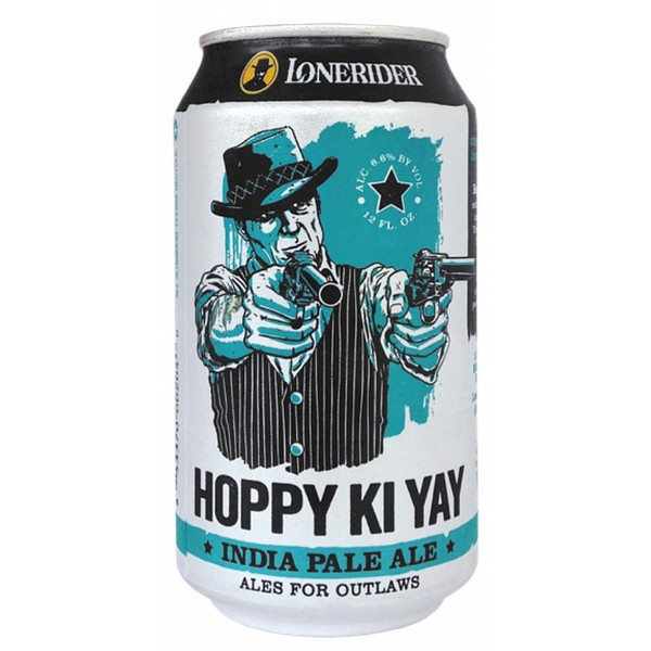 Lonerider Hoppy Ki Yay IPA Cans