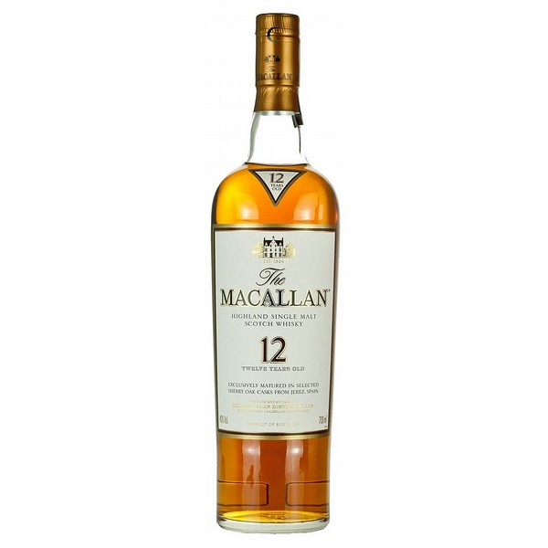 Macallan 12 Year Old Sherry Cask