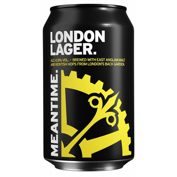 Meantime London Lager  Cans