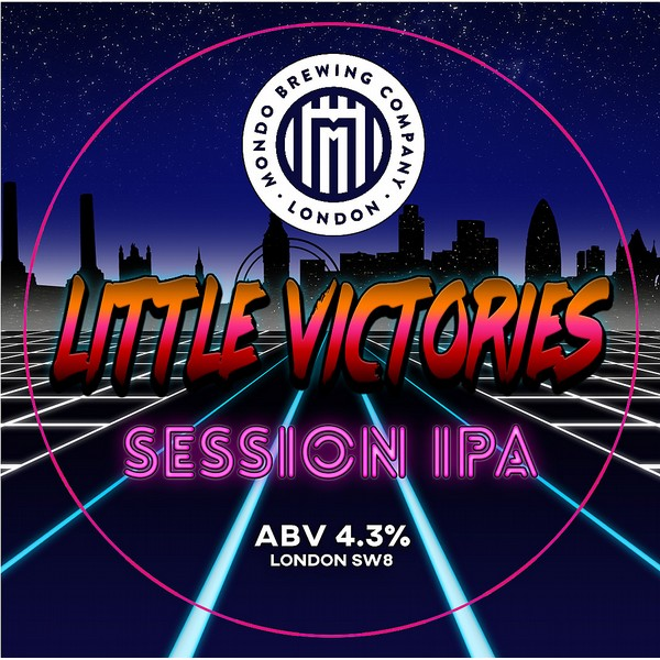 Mondo Brewing Little Victories Session IPA