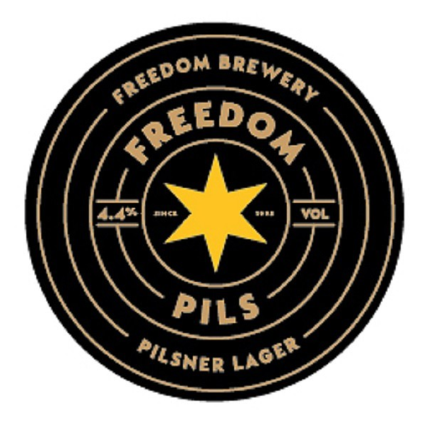 Image result for Freedom Liberty Pilsner