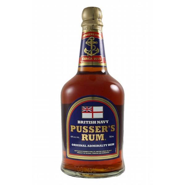 Pussers Blue Rum
