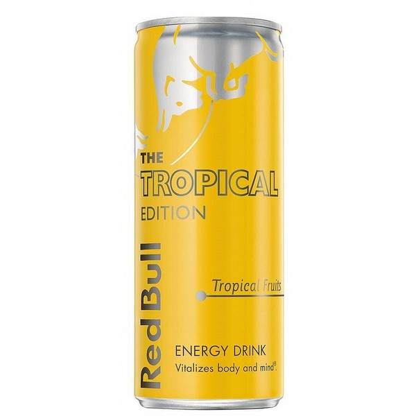 Red Bull Editions: Tropical Energy Cans