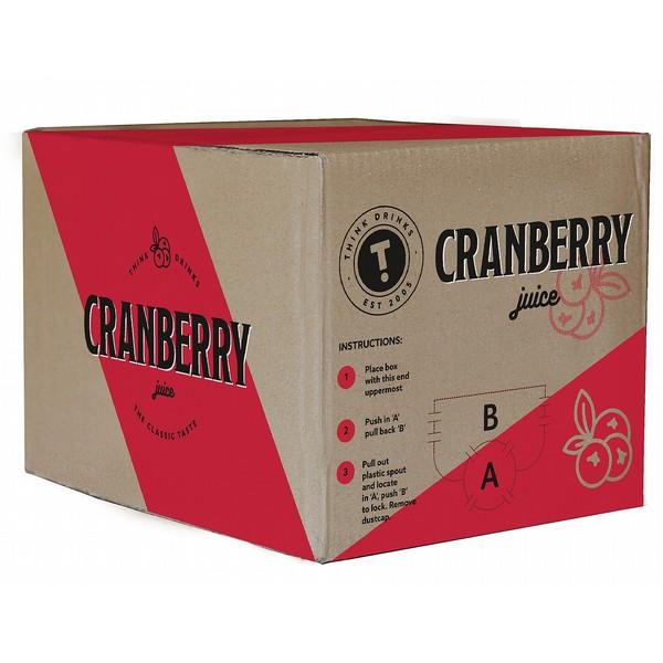 Think Cranberry Juice  BIB