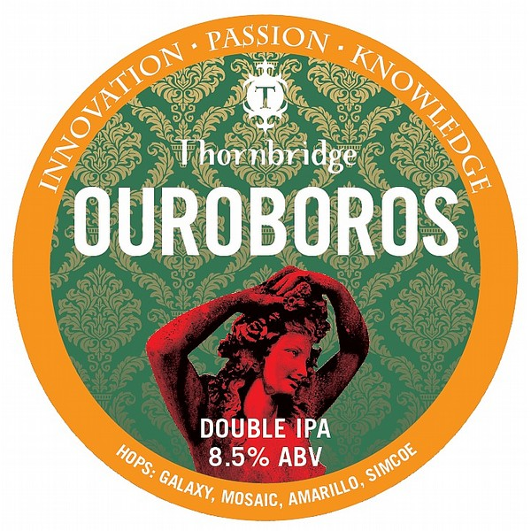 Thornbridge Ouroboros Round Tap Badge