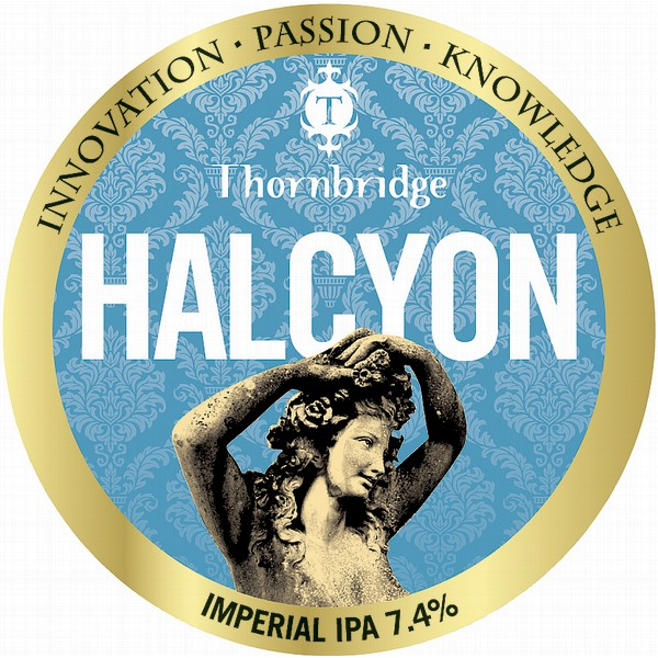 Thornbridge Halcyon Imperial Tap Badge