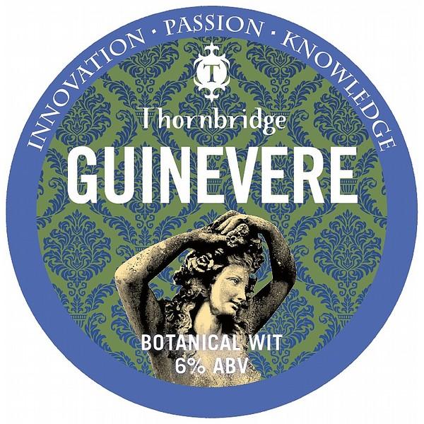 Thornbridge Guinevere Round Badge