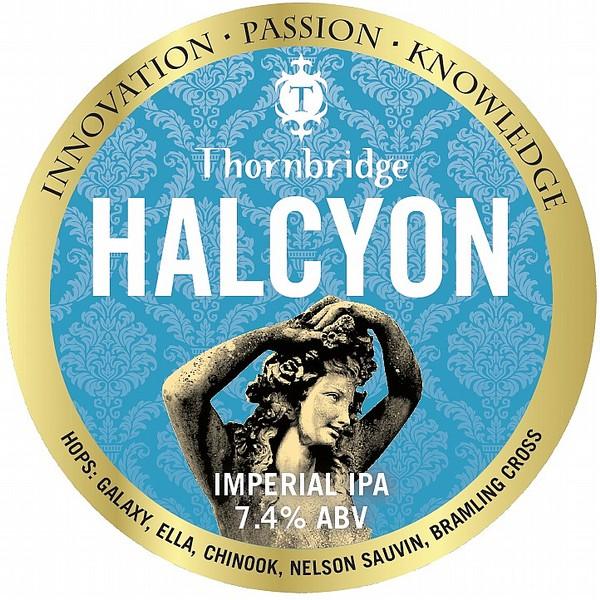 Thornbridge Halcyon Imperial Tap Badge