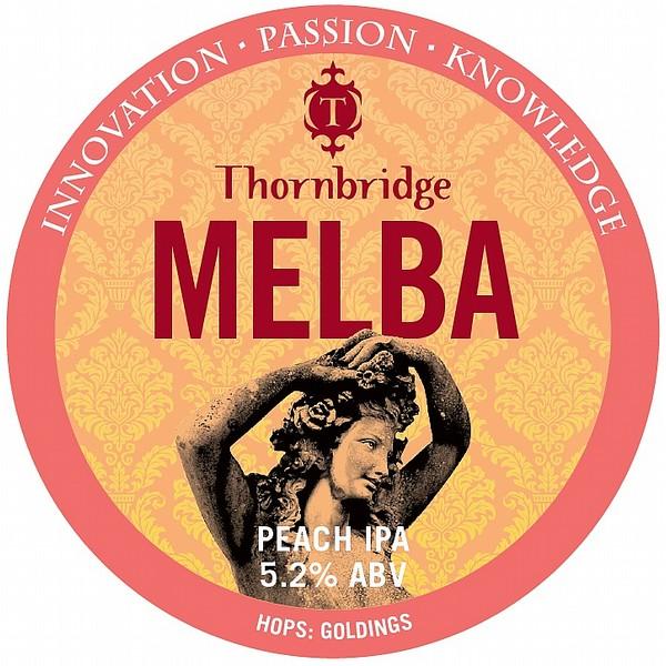 Thornbridge Melba Round Badge