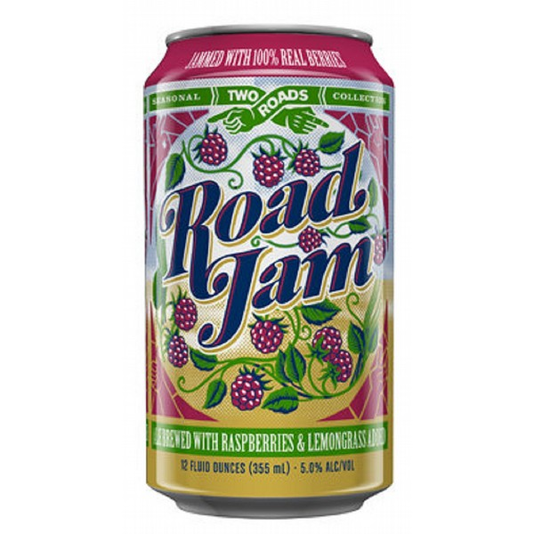 Two Roads Road Jam Can